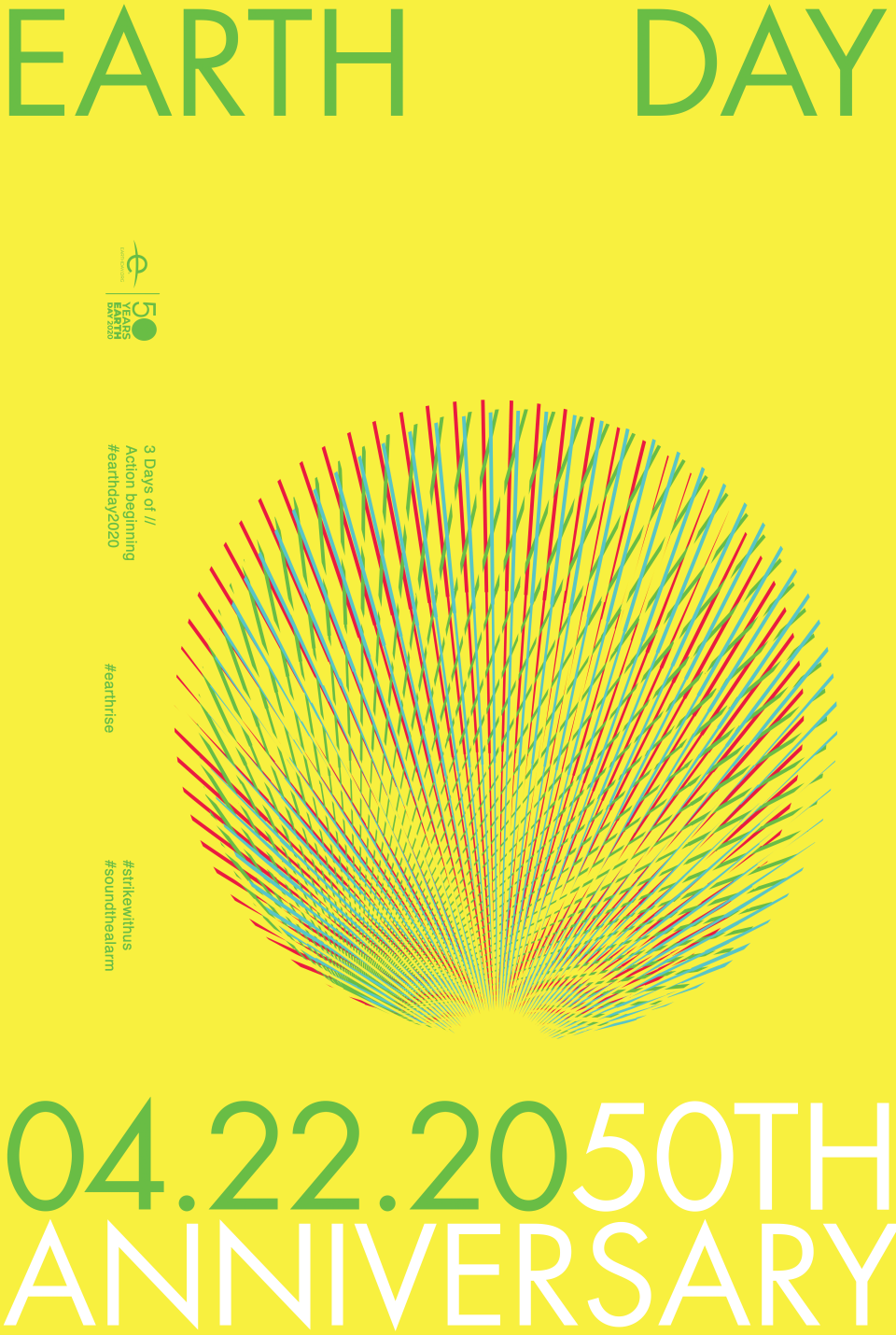 #EarthDay2020 poster by TBWA_Chiat_Day and Sound The Alarm