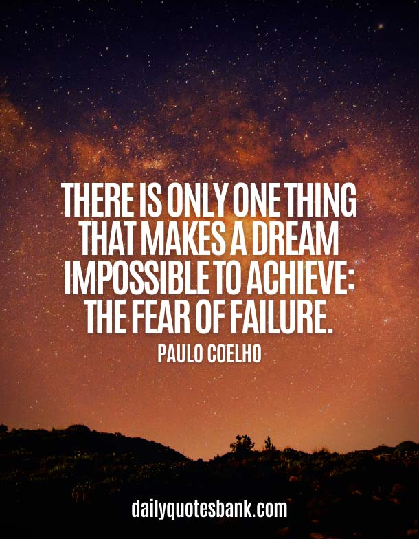 Famous Quotes About Fear Of Failure