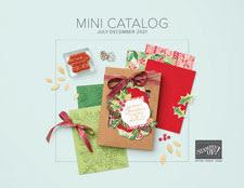 July to December 2021 Mini Catalog