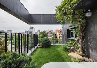 taman atap rumah
