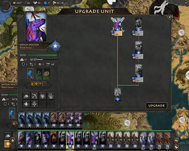 Fantasy General 2 - Lizard Upgrades