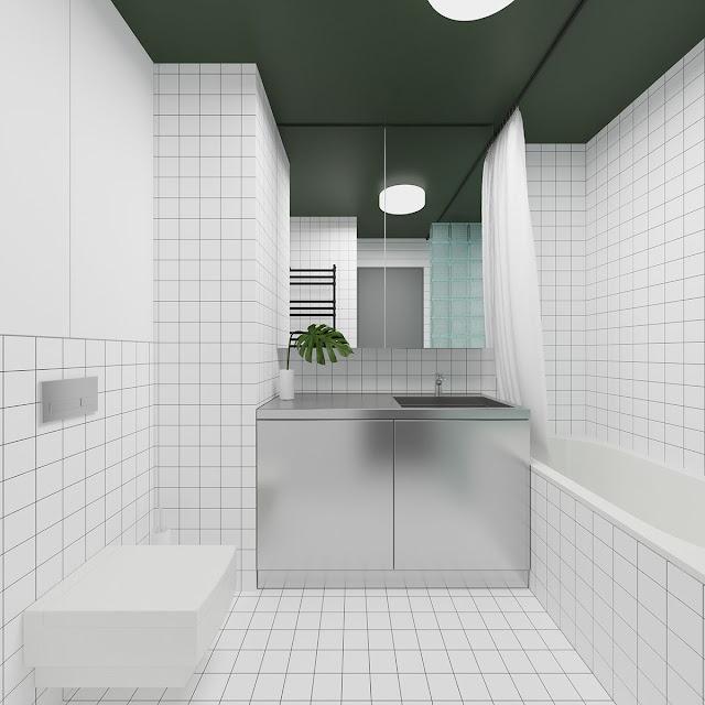 Bathroom With Bathtub Design