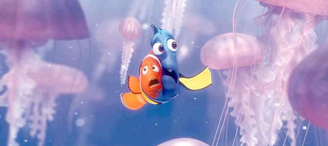 Πλήθη υποθαλάσσιων πλασμάτων 10 Πράγματα που Δεν Ξέρατε για την Ταινία Finding Nemo (2003) της Pixar