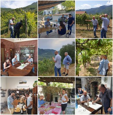 visite in cantine wine blogger liguria