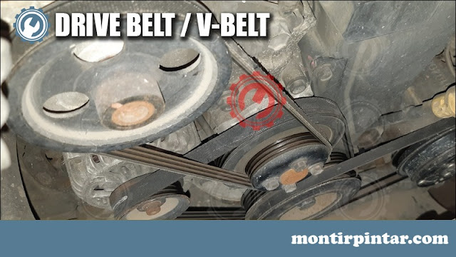 fan belt atau v belt mobil
