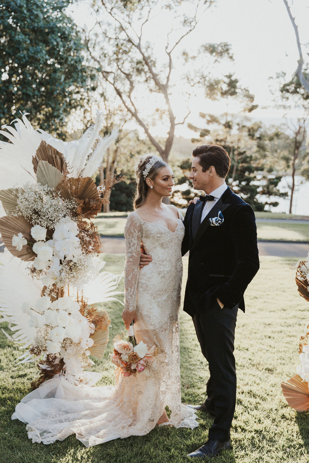 kiri shay photography palm house sydney bridal gowns floral design weddings styling