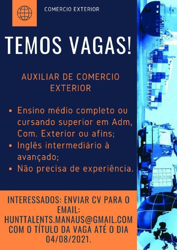 AUXILIAR DE COMERCIO EXTERIOR