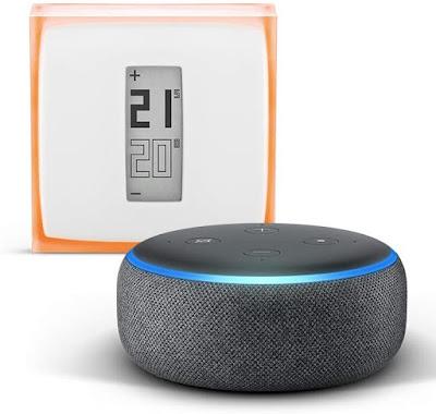 Echo Dot + Netatmo