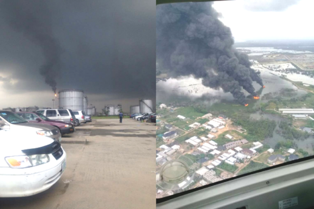 soot affecting clean air in rivers state