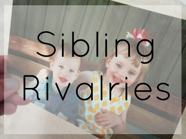 Sibling Rivalries from Courtney's Little Things