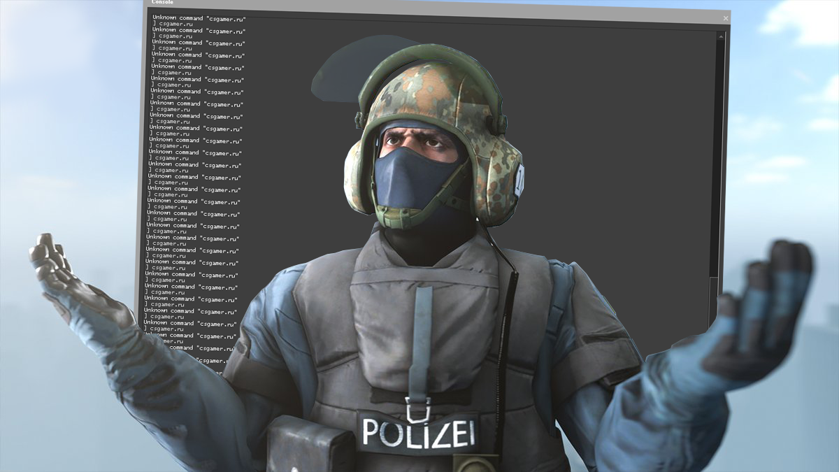 How to enable the console in CS:GO in two ways
