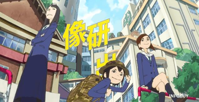 Sinopsis Eizouken ni wa Te wo Dasu na! (2020)  - Aku Ingin Membuat Anime !