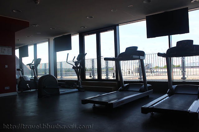 Hampton by Hilton Aachen Tivoli Fitness rooms