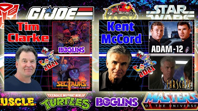 Two More Guests Announced For Retro Con 2021: Tim Clarke and Kent McCord