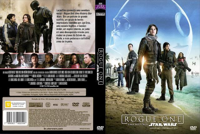 Capa DVD Rogue One Uma História Star Wars (Oficial)