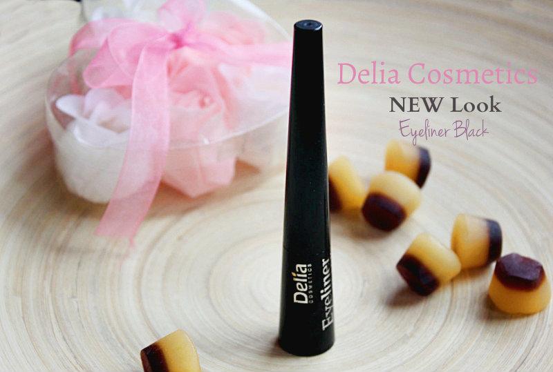 Жидкая подводка для глаз Delia Cosmetics New Look Eyeliner / отзывы