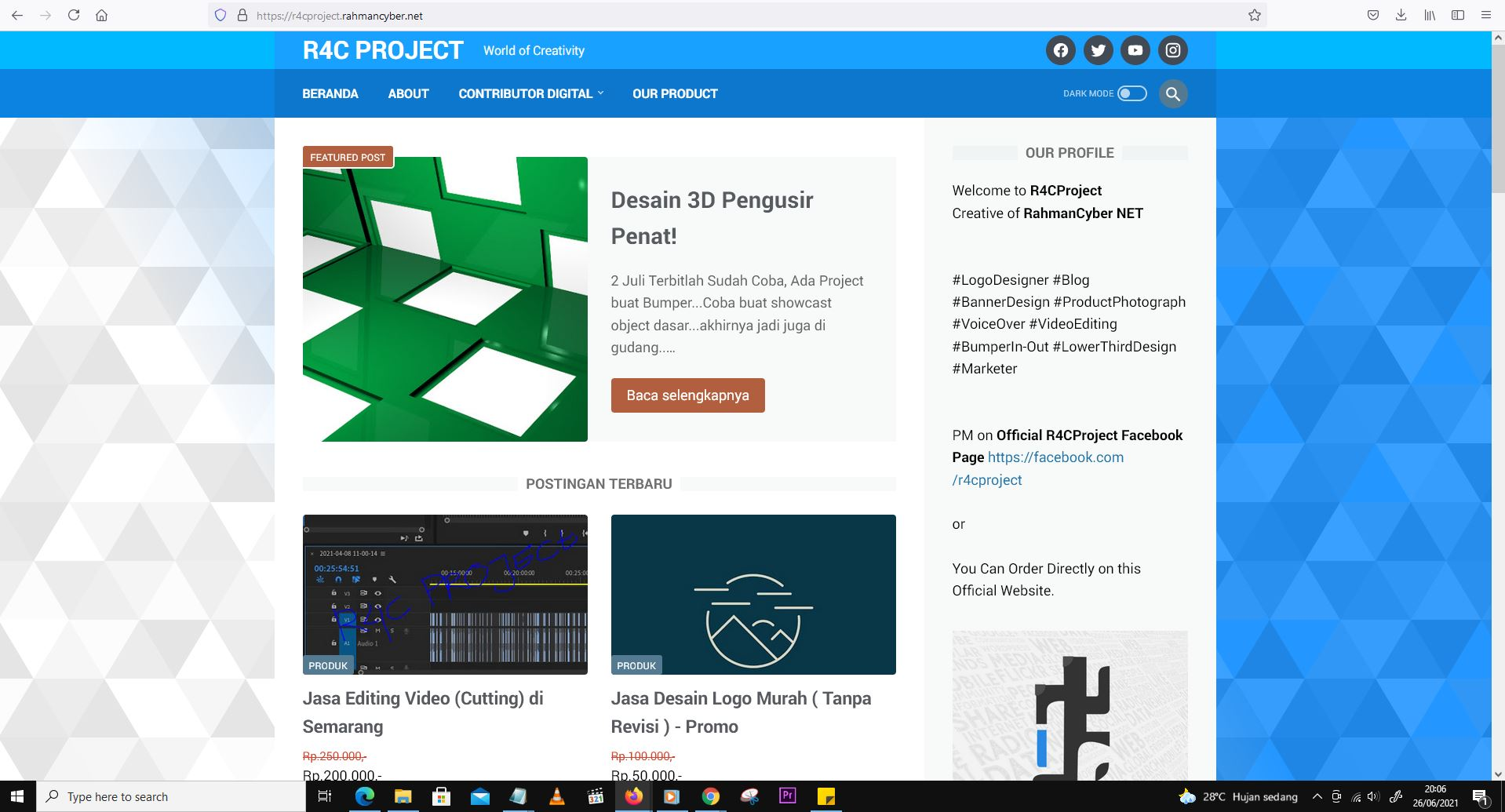 R4CProject Web v1