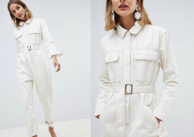 ASOS White Utility Jumpsuit - My Top High Street Finds #3 - The Autumn Edit // Lauren Rose Style // Fashion Blogger London Wishlist
