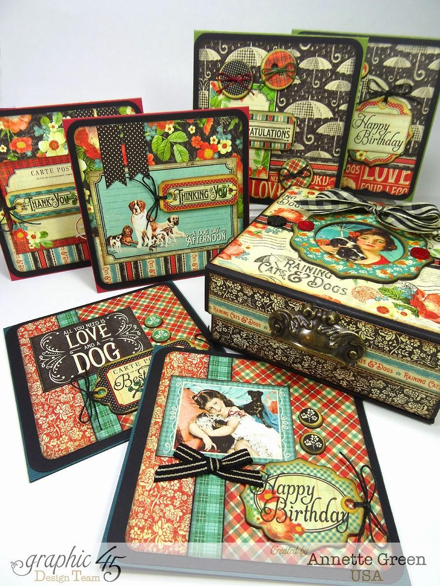 Annette's Creative Journey: Handmade Gift Idea: 6-Card Set