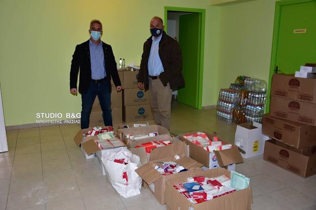 Ναύπλιο: Δωρεά σημαντική ποσότητας φαρμάκων στο Κοινωνικό Ιατρείο