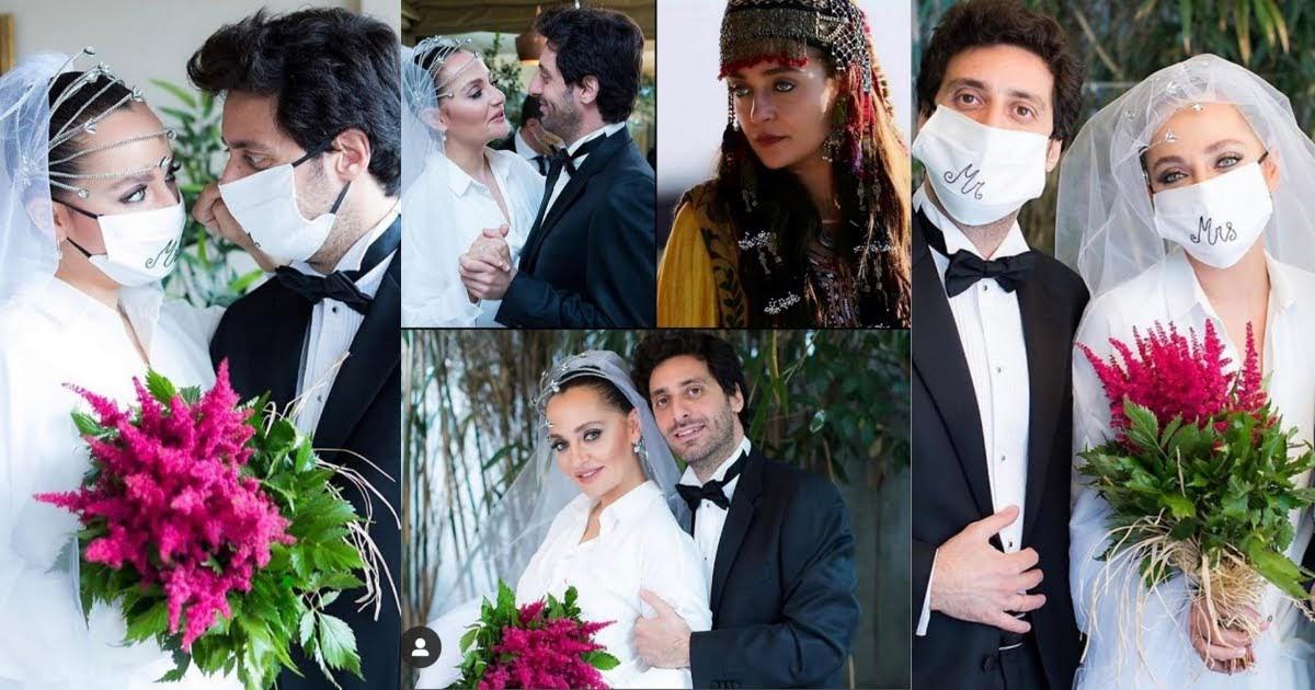 Beautiful Wedding Pictures of Selcan Hatun (Didem Balçın) From Ertugrul Ghazi Drama