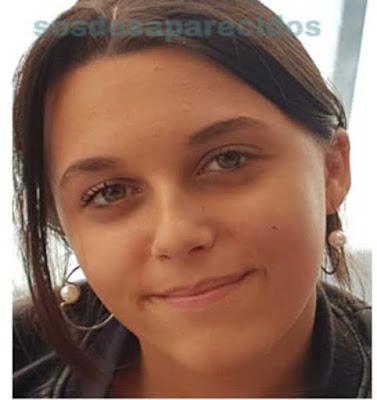 La menor Elena González Galán , de 14 años, desaparecida en Tincer, Santa Cruz de Tenerife