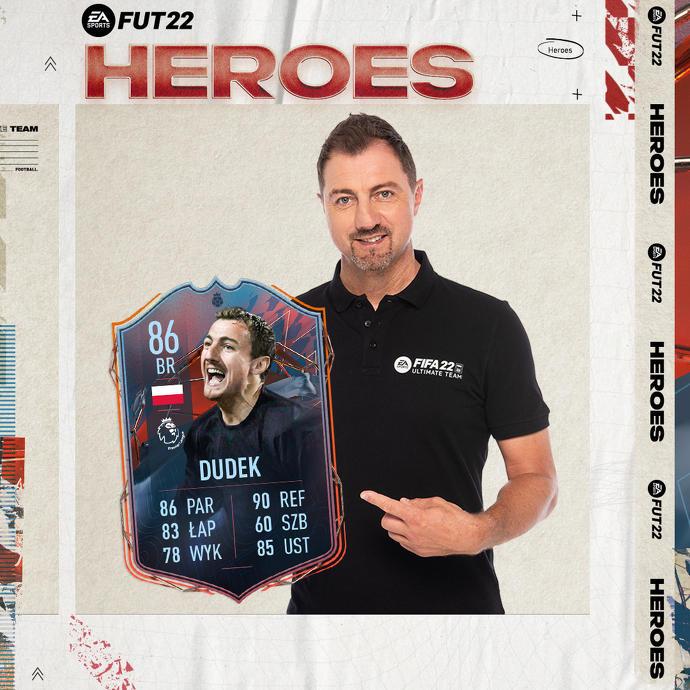 Jerzy Dudek statystyki w FIFA 22