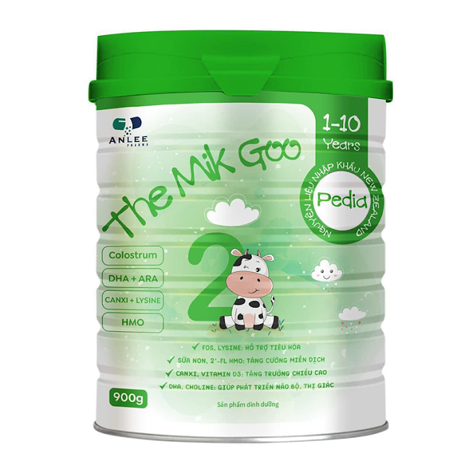 Sữa The Mik Goo số 2 – Phát Triển Trí Não, Cải Thiện Cân Nặng