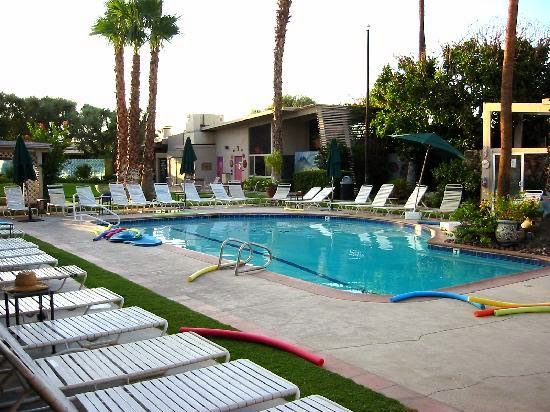 Best clothing optional resorts palm springs