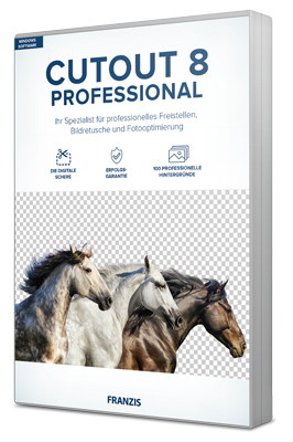 Franzis CutOut Professional For PC Windows 10, 8, 7 Free Download