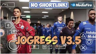 Download PES 2021 PPSSPP JOGRESS V3.5 Camera PS4 Best Graphics Shopee Liga 1 Indonesia & Update Transfer