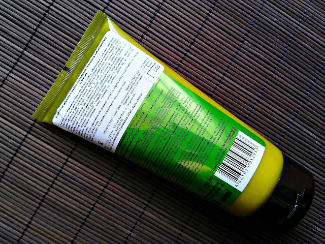 Dr. Santé - Odbudowujący balsam do włosów z olejem macadamia i keratyną, opis opakowania