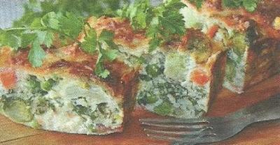 Подробное описание приготовления овощной запеканки с добавлением сыра и манной крупы
