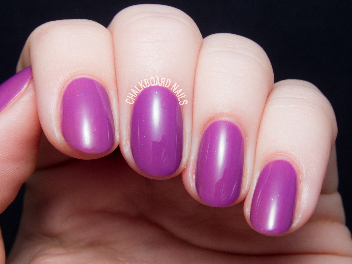 Serum No. 5 Ultra Violet via @chalkboardnails