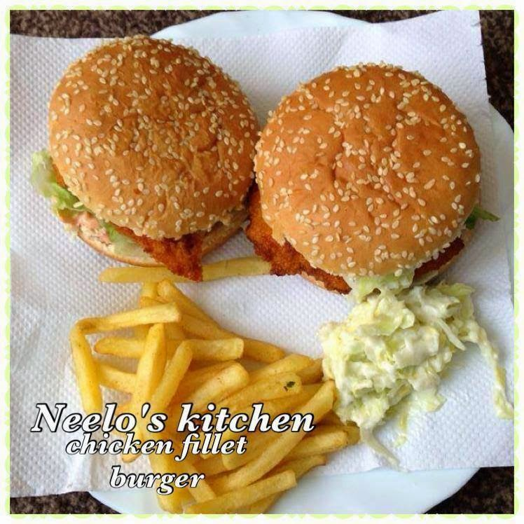 Neelo S Kitchen Chicken Steak Fillet Burger