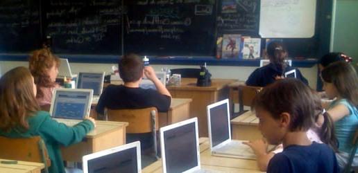 laptop az iskolában