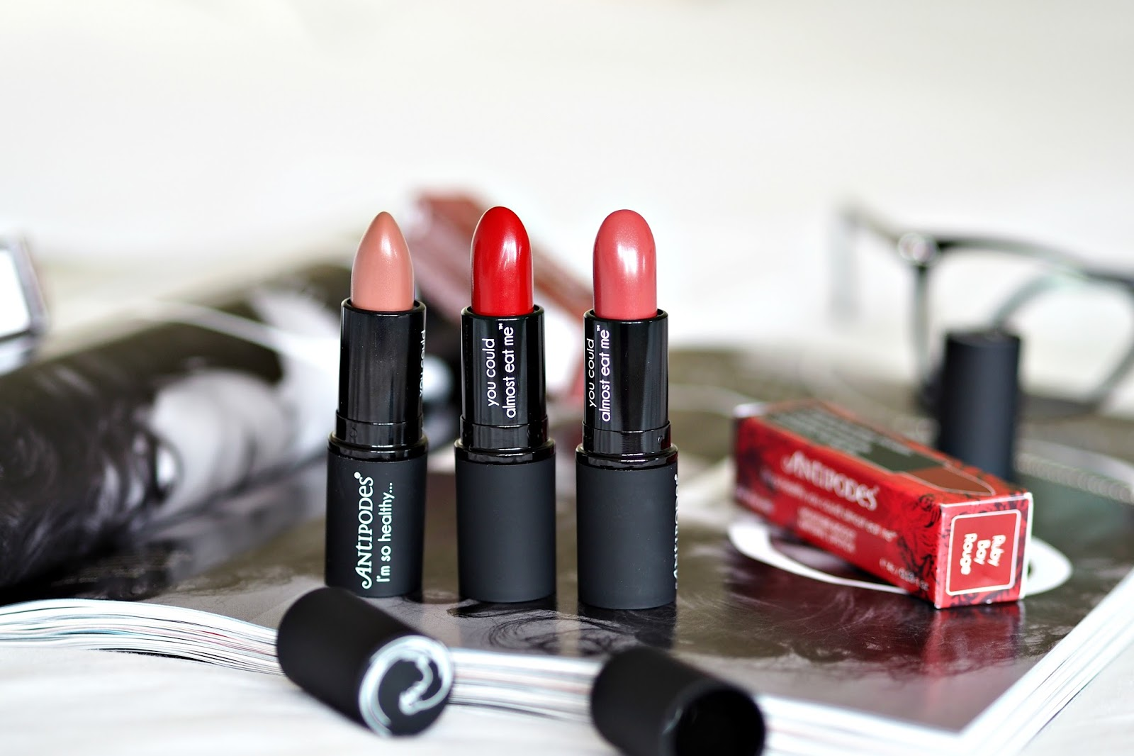 Antipodes Lipsticks