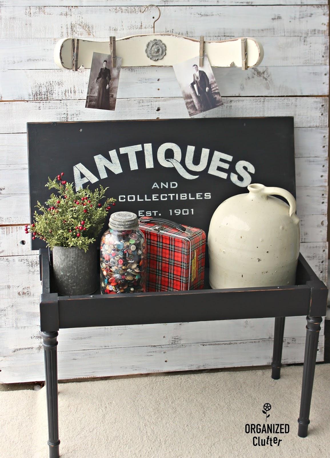 Garage Sale Piano Bench Upcycle With Buffalo Checks