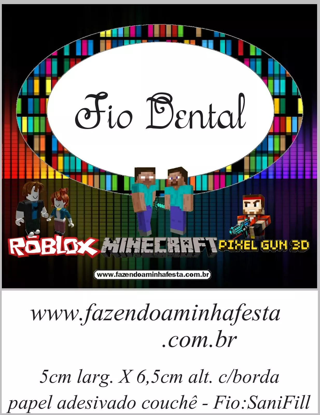 Pixel Gum 3d Roblox And Minecraft Free Printable Candy Bar - caixa cone roblox