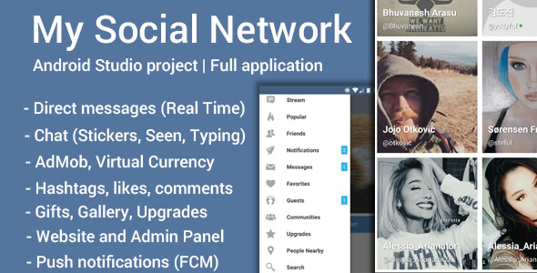 My Social Network (App and Website) v4.6.1. TechSter.XYZ