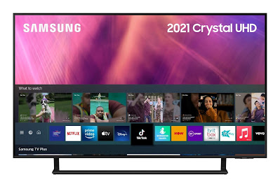 2021 AU9000 Crystal UHD 4K HDR Smart TV