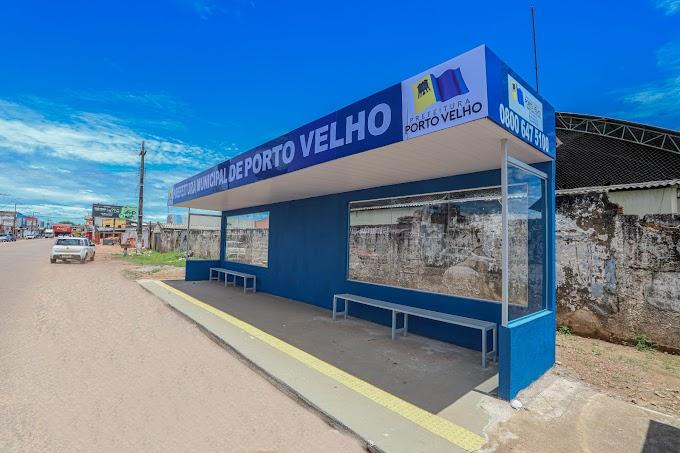 Prefeitura instala abrigo para usuários do transporte coletivo na zona Sul