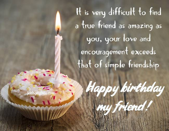 Happy Birthday Wishes For Friend Message And Quotes