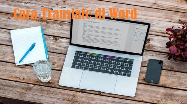 Cara Translate di Word