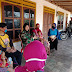 Kowad tak Lupa Lakukan Komsos dengan Ibu-ibu di Lokasi TMMD