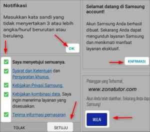 Cara Buat Akun Samsung Cloud Baru Lewat Hp