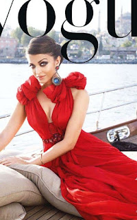 Hot Look Of Aishwarya Rai On Vogue Magazine