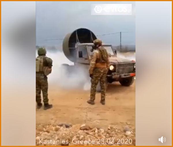 Έβρος: Δείτε Βίντεο με τον «ανεμιστήρα» του Στρατού σε δράση