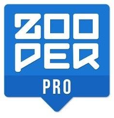Zooper Widget Pro 2.60 apk paid تحميل