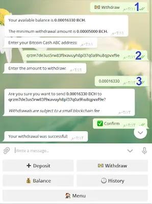 السحب من تليجرام